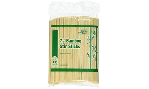 Bamboo Coffee Stirrers