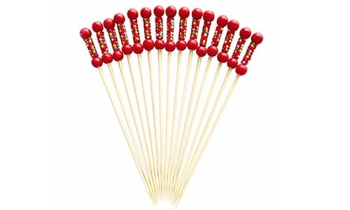 Braided Bamboo Picks