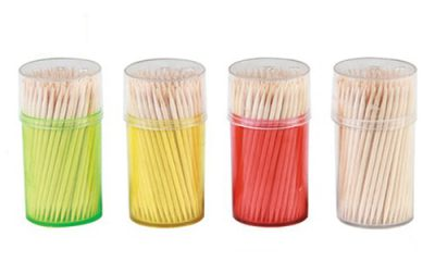 Disposable Wooden Toothpicks