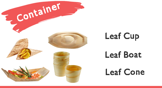 Leaf Container disposables