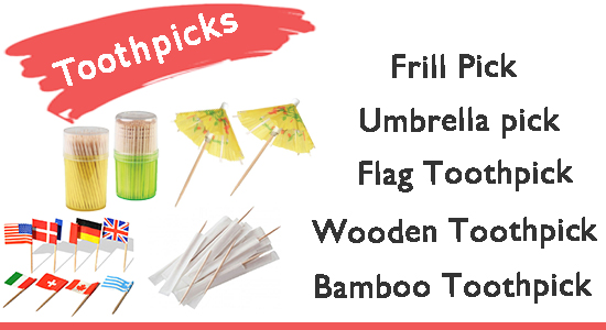 Toothpick disposables