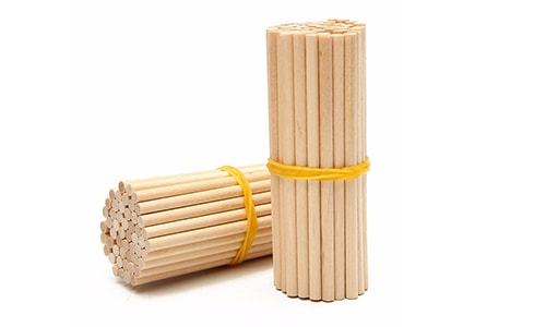 Round Popsicle Sticks